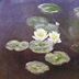 Paint water lilies like Impressionist painter, Monet